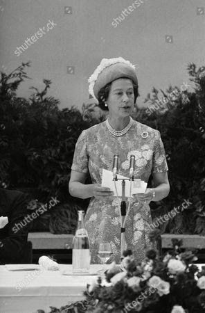 Editorial photo of Queen Elizabeth II