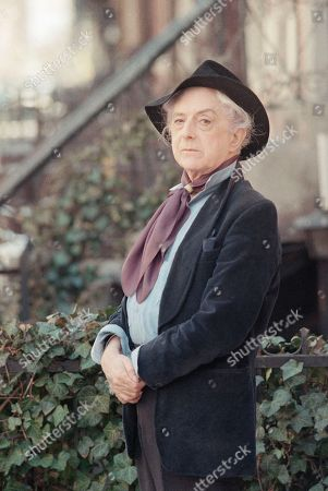 British actor and author Quentin Crisp is shown in 1989