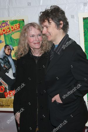 Stock Photo of Mia Farrow and Michael Gondry
