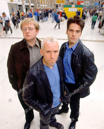 L-R.Roger Morlidge, Ben Miller and Mark Aiken in 'The Blind Date'