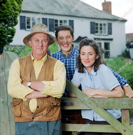 Orla Brady with Anton Rodgers (left) and Peter Wingfield in 'Noah's Ark'