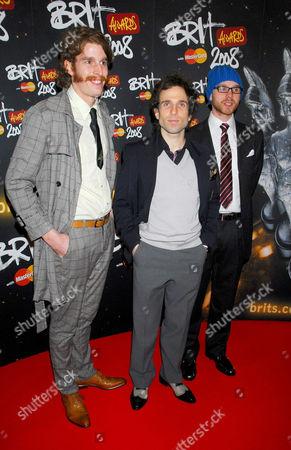 The Hoosiers- Alfonso Sharlando, Irwin Sparkes, Martin Skarendahl
