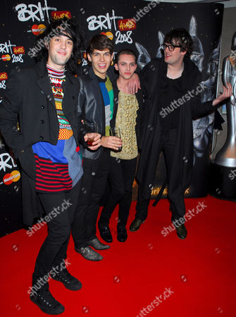The Klaxons- Jamie Reynolds, James Righton, Steffan Halperin, Simon Taylor-Davis