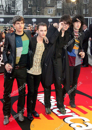 The Klaxons- James Righton, Steffan Halperin, Simon Taylor-Davis, Jamie Reynolds