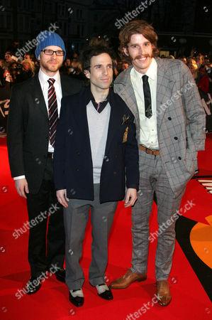 The Hoosiers-  Martin Skarendahl, Irwin Sparkes, Alfonso Sharlando