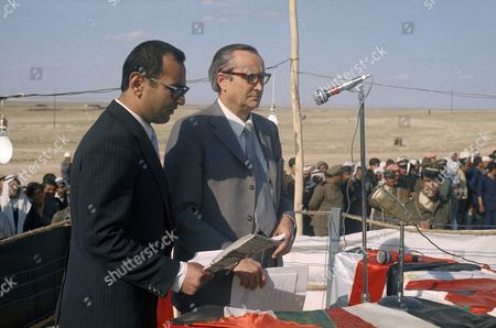 Adnan Mustafa Syria opened its fourth oil field at Jbeissah, 19 miles west of the Iraq Border in April 1975. The opening ceremony was attended by Syrian oil Minister Adnan Mustafa and several Soviet Oil experts and Diplomats