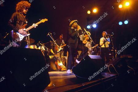 MUDDY WATERS AT THE CAPITAL JAZZ FESTIVAL WITH CHRIS BARBER ON TROMBONE - 1979