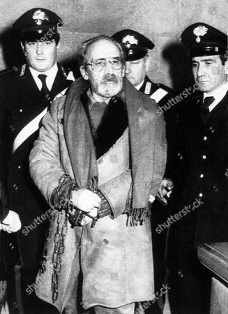 Editorial photo of Vito Ciancimino 1984, Palermo, Italy