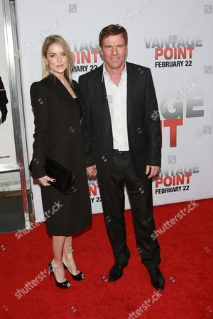Kimberly Buffington and Dennis Quaid