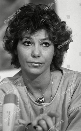 Portrait of German actress Judy Winter (Beate Richard), pictured during the International Film Festival, Berlinale, in West Berlin