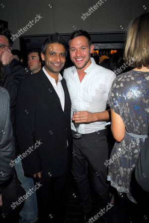 Rav Singh and Will Young