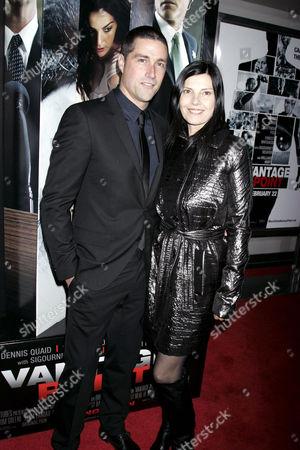 Matthew Fox and wife Margherita Ronchi