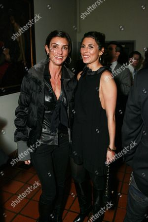 Stock Picture of Ingrid Casares and Jamie-Lynn Sigler