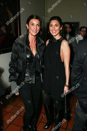 Ingrid Casares and Jamie-Lynn Sigler