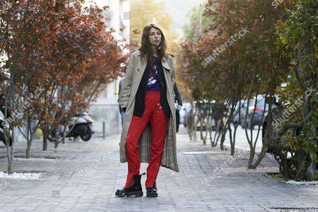 Editorial picture of Street Style, Mercedes-Benz Tblisi Fashion Week, Georgia - 06 Nov 2016