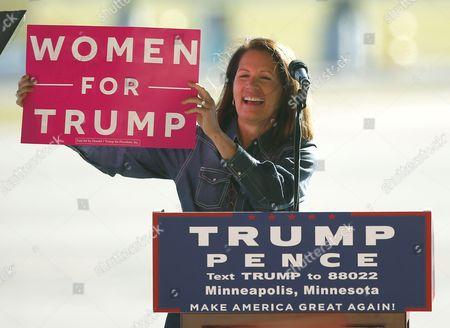 Editorial image of Campaign 2016 Trump, Minneapolis, USA - 06 Nov 2016