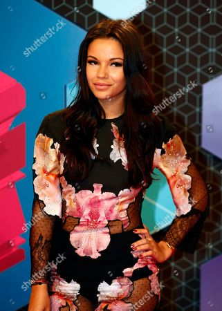 Monica Geuze poses for photographers upon arrival at the MTV European Music Awards 2016 in Rotterdam, Netherlands