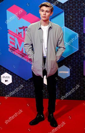 Editorial picture of Netherlands MTV EMA 2016 Arrivals, Rotterdam, Netherlands - 06 Nov 2016