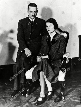Countess Marie Valerie and Archduke Georg von Habsburg on