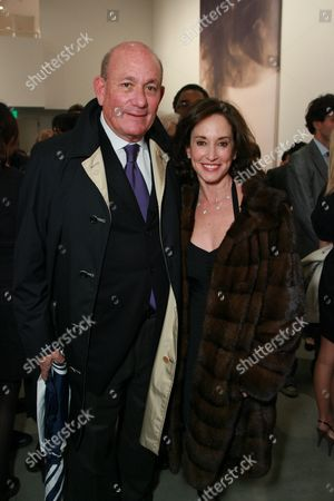 Bruce Karatz and Lilly Tartikoff