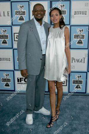 Forrest Whitaker and Keisha Whitaker