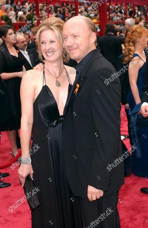 Deborah Rennard and Paul Haggis