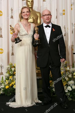 Stock Picture of Eva Orner and Alex Gibney