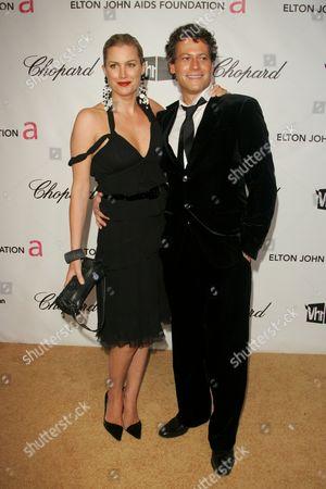 Stock Photo of Alice Evans and Ioan Gruffud