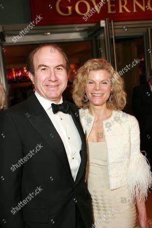 Stock Image of Philippe P. Dauman and Debbie Dauman