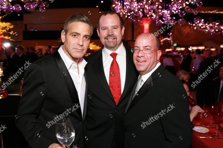 George Clooney, Marc Shmuger and Jerry Zucker