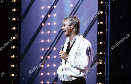 Stock Photo of Duncan Norvelle at the London Palladium