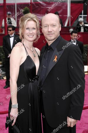 Paul Haggis and wife Deborah Rennard