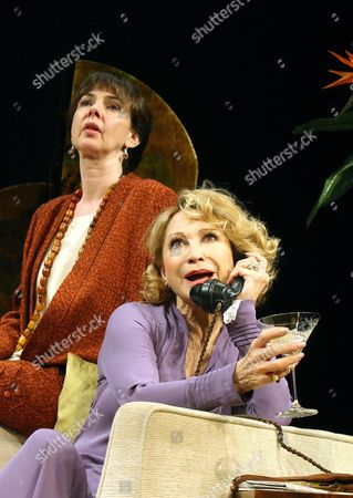 'The Vortex'  - Phoebe Nicholls (Helen) and Felicity Kendal (Florence)