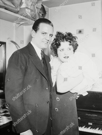 Helen Kane, stage and screen star, is shown with movie actor Max Hoffman, in Washington, after they were married