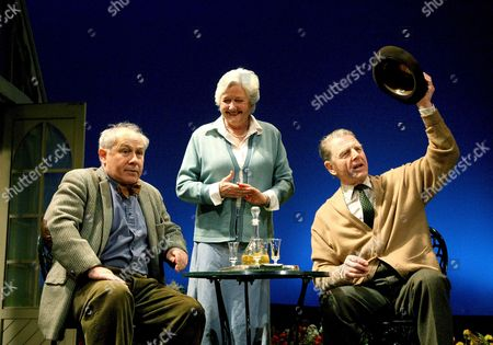 Edwin - Nicholas Woodeson (Tom), Polly Adams (Margaret) and Edward Fox (Sir Fennimore Truscott)