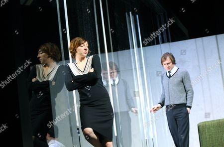 'Hedda Gabler' - Katharina Schuttler as Hedda and  Lars Eidinger as Jorgen