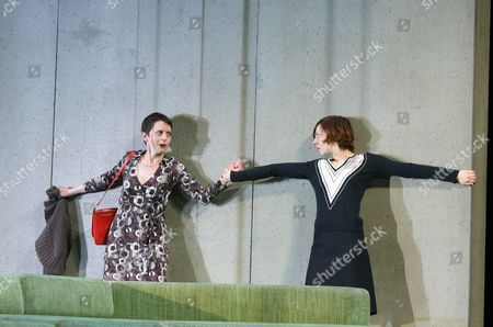'Hedda Gabler' - Lore Stefanek as Juliane and  Katharina Schuttler as Hedda