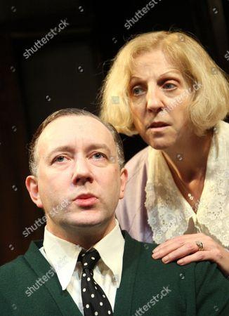 'Plague Over England'  - Jasper Britton as John Gielgud, Nichola McAuliffe as Sybil Thorndike