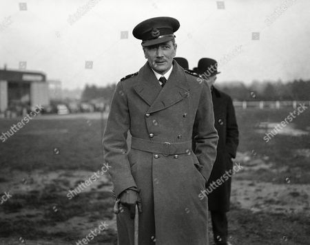 Britain's Air Chief Marshal Sir John Maitland Salmond who has resigned his appointment of Chief of the Air staff poses on
