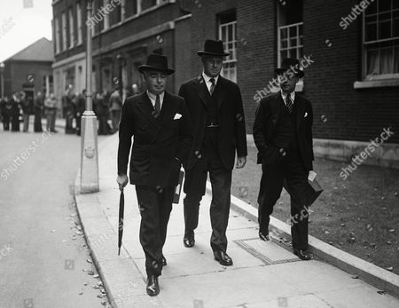 Editorial image of Minters leaving the downing street, London