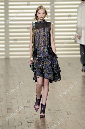 Editorial image of Chloe Autumn / Winter 2008 - 2009 Show, Paris Fashion Week, Paris, France