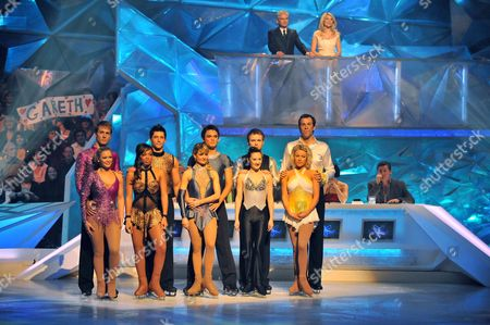 Stock Photo of Suzanne Shaw and Matt Evers Zarrah  Abrahams and Fred Gareth Gates and Marie Filipov Chris Fountain and Frankie Poultney Greg Rusedski and Kristina Lenko