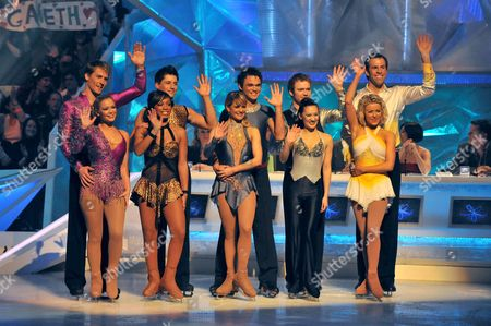 Stock Image of Suzanne Shaw and Matt Evers Zarrah  Abrahams and Fred Gareth Gates and Marie Filipov Chris Fountain and Frankie Poultney Greg Rusedski and Kristina Lenko