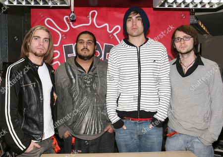 Editorial photo of Fightstar promoting their new single 'Floods', Fopp, London, Britain - 03 Mar 2008