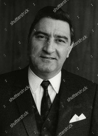 Undated portrait of Dr. Rainer Wicklmayr, state minister for inner affairs of the Saarland (Saar Region), West Germany