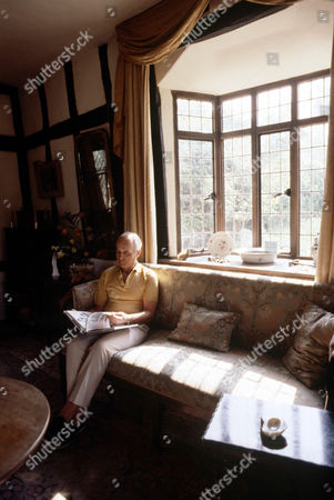 Stock Photo of Hammond Innes at home