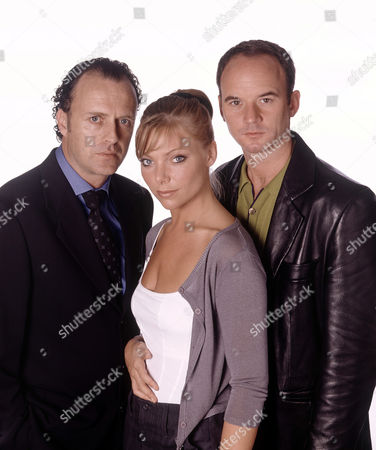 Samantha Janus with Paul Usher (left) and Mark Womack in 'Liverpool 1'
