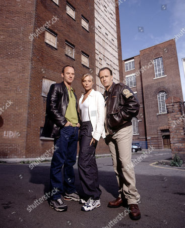 Samantha Janus with Paul Usher (right) and Mark Womack in 'Liverpool 1'