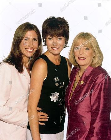 L-R, Gaynor Faye, Janet Dibley and Alison Steadman
