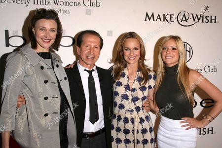 Brenda Strong and Manny Mashouf with Melora Hardin and Kristin Cavallari